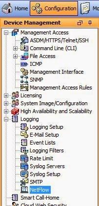 Cisco Netflow Configuration