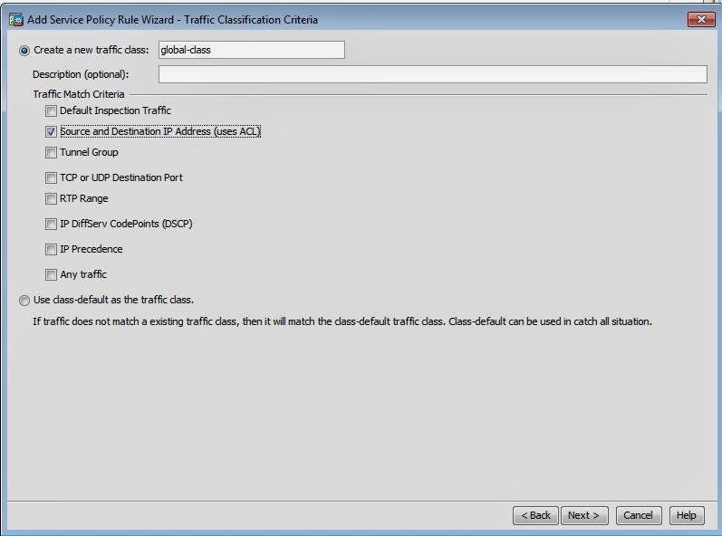 Netflow Access Control List