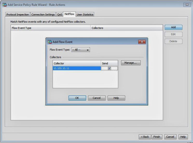 Netflow Configuration Cisco