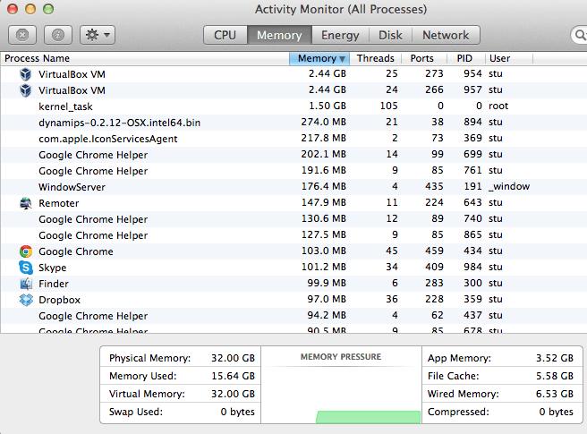 CSR1000v memory usage