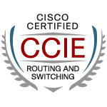 CCIE certified logo