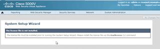 Cisco vWSA running on UNetLab
