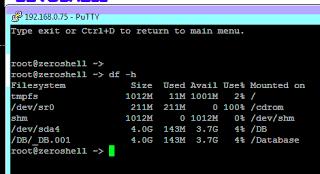 Running ZeroShell in UNetLab