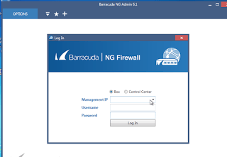 Barracuda NGAdmin login default username and password