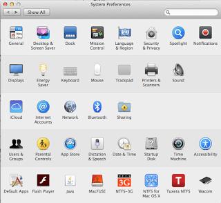 OSX System Preferences