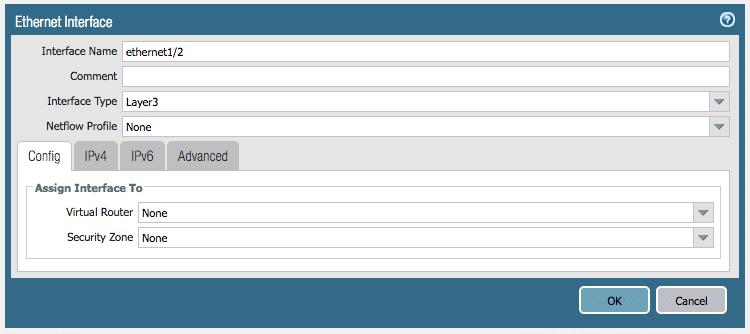 Configuring Palo Alto Interfaces