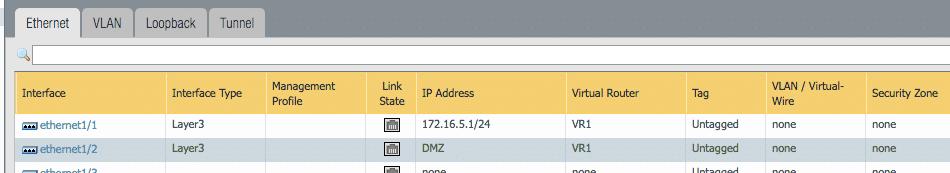 Palo Alto assign virtual router