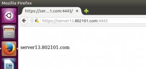 virtual hosts running on non-standard HTTPS port